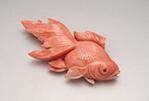 金魚ブローチ