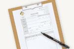 買取査定依頼書に必要事項をご記入下さい