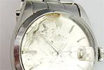 腕時計 風防の汚れ、ヒビ 買取可能