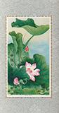 蓮(ハス)の花小型シート